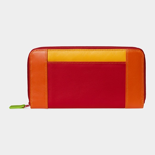 Zip-Around Wallet. Love the bright colors. eye-catching ...