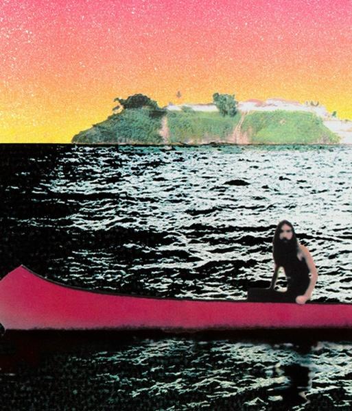 Peter Doig / canoe island, 2000