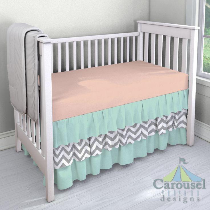 Custom nursery bedding baby girl crib bedding carousel designs and unique baby - Unique baby crib bedding sets ...
