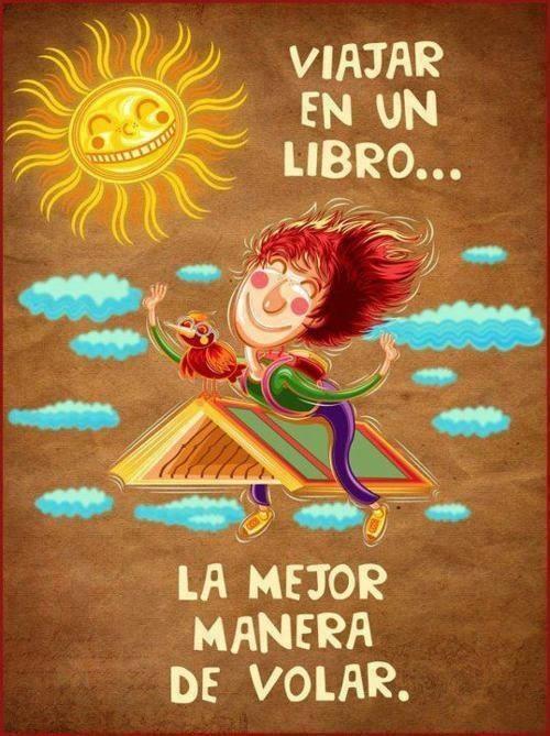 Viajar en un libro... volar