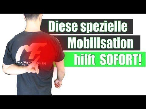 Muskelschmerzen Schulterblatt