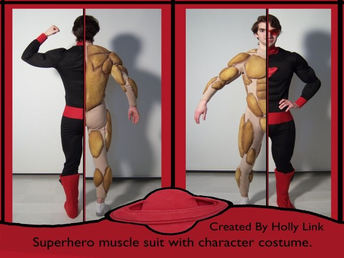 103 best images about body padding on pinterest | spandex fabric, Muscles