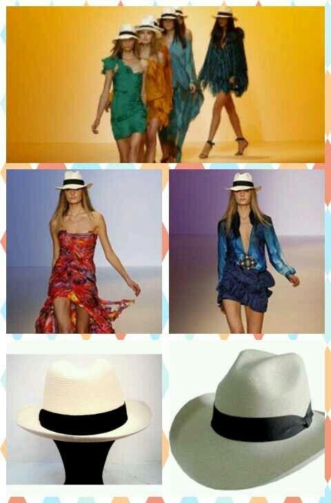 El sombrero mas fashion ... y es colombiano