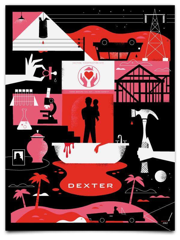 Dexter Season 4 Minimalist Poster
