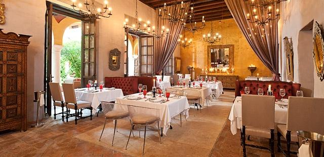 Beautiful dining space - Cartegena Sofitel