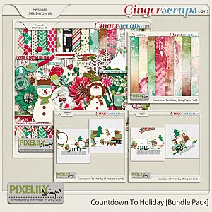 Countdown To Holiday [Bundle Pack]