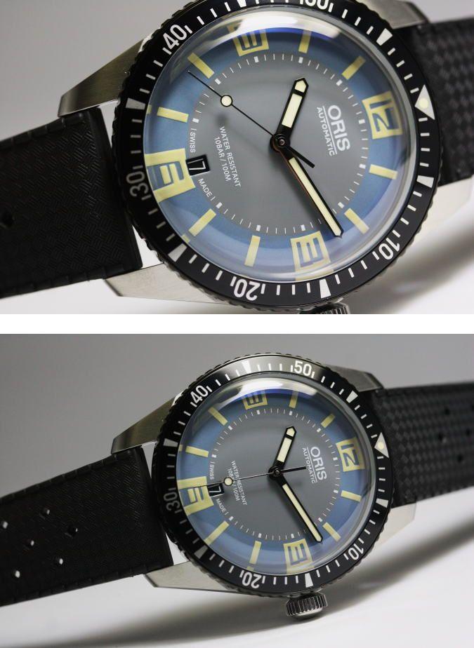 【楽天市場】復刻!スイス製ORIS【オリス】ダイバーズ65ブルー自動巻き腕時計:加坪屋(かつぼや)