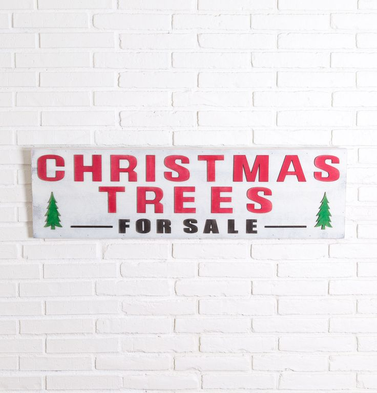 Christmas Trees For Sale Sign - Magnolia Market | Chip & Joanna Gaines