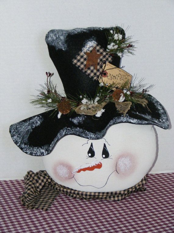 864 Best Images About Wooden Snowmen Crafts On Pinterest