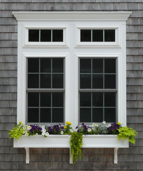 Transom Windows: Window Boxes And Transom Windows In 2019