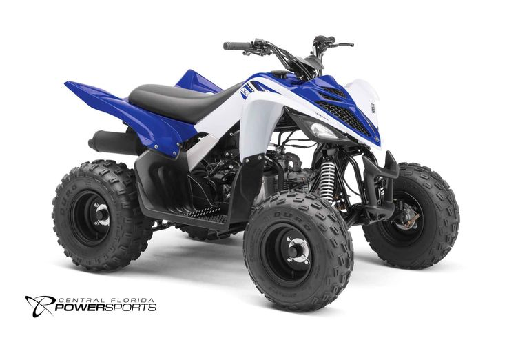 New 2017 Yamaha Raptor 90 ATVs For Sale in Florida. 2017 Yamaha Raptor 90, Electric start, reverse and true Raptor styling ensure the Raptor 90 will grab the attention of riders 10 years old and up. Compact, Sporty and Confidence-Inspiring 90cc Engine Reduced Maintenance Design Scaled Down, Not Scaled Back Comfortable Chassis Yamaha Raptor DNA Come to Central Florida PowerSports, your favorite  New and Used Yamaha ATV Dealer in the Orlando and Kissimmee, Florida  area.