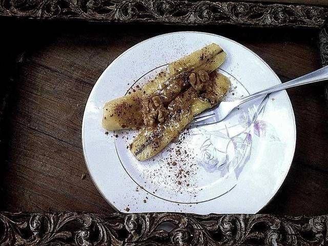 Hot bananas. Un postre saludable a la vez que sorprendente.