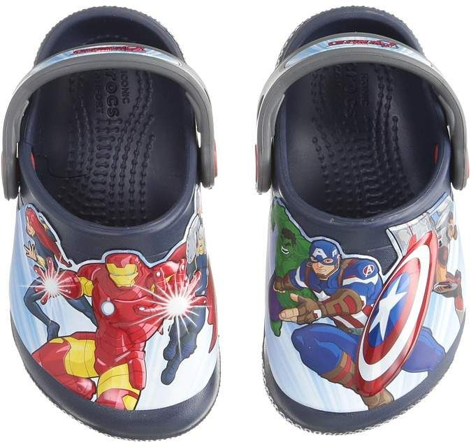 13826d060 Crocs Kids FunLab Avengers Multi Clog Boys Shoes #affiliate | Comic ...