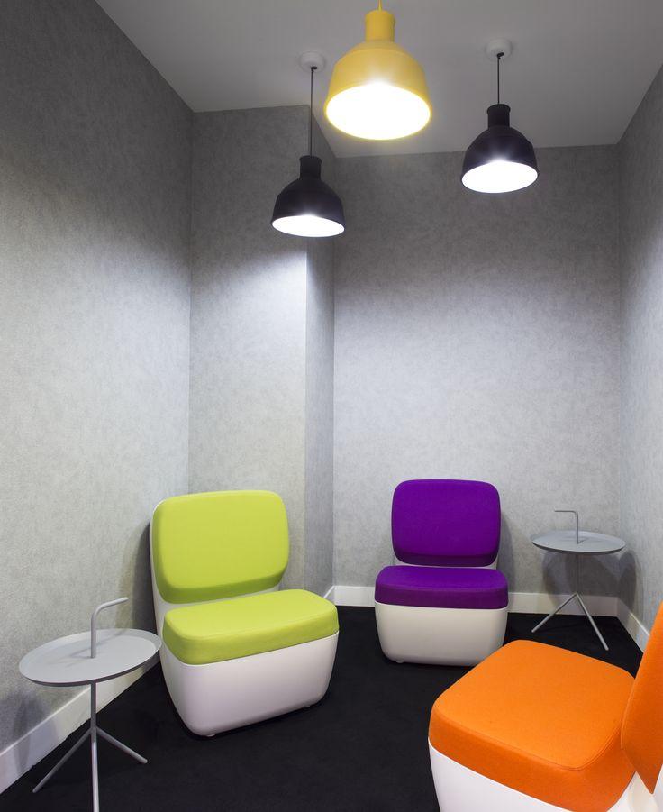 Private working room by Cléram. #style #design #bureau #architecture #aménagement #workspace #coolworking #interior #deco #Cléram #art #office #idea #conception #company #entreprise #work #working #modern #decoration #bureaux #travail #partition #glass #ludique #fun #private #place #privée