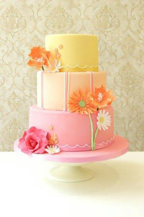 368 Best Images About Wedding Cakes Garden On Pinterest