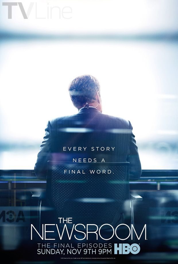 The Newsroom Final Season Poster Will
