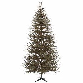 Vickerman 8-Ft Unlit Vienna Twig Slim Artificial Christmas Tree B10768