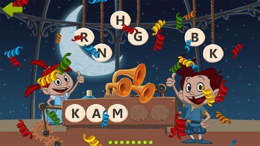 TRÆNING: I Leo & Mona trænes lyde, bogstaver og ord. Denne App et gratis