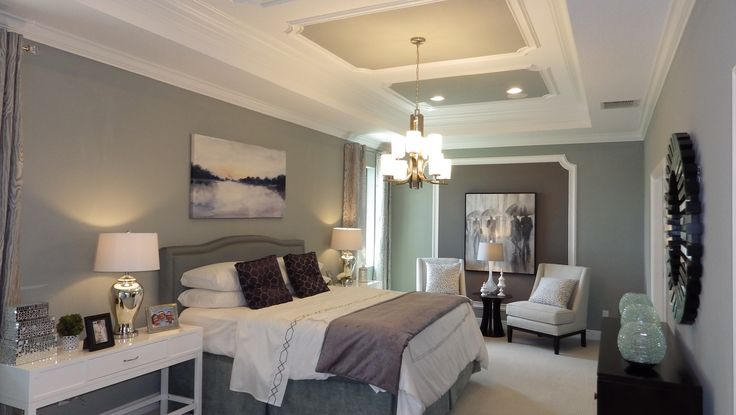 A bedroom from one of our fav. model homes!! in Ruskin FL