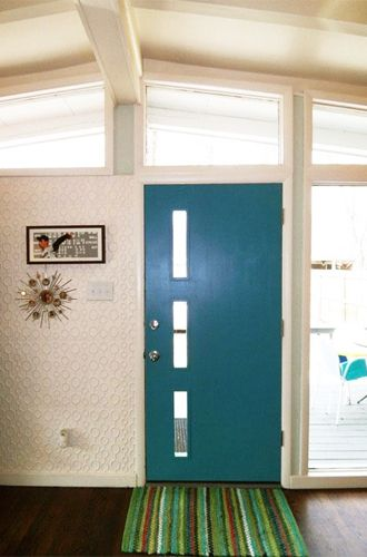 mid+century+modern+exterior | ... Doors for Mid-Century Modern Homes » Curbly | DIY Design Community