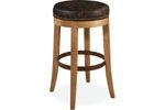 Lee Industries - Leather Swivel Bar Stool