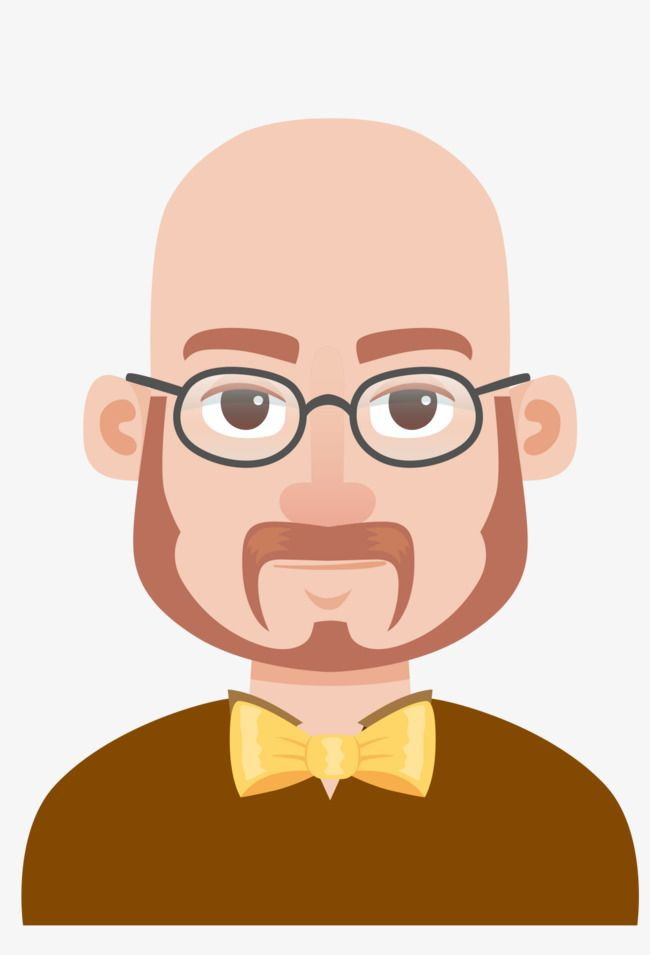 Bald Man Vector Man Clipart Glasses Cartoon Png Transparent Clipart Image And Psd File For Free Download Anime Eyes Man Clipart Cartoon Eyes Drawing