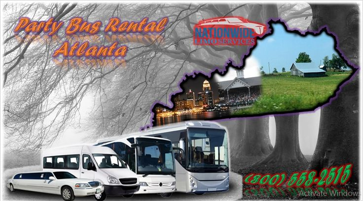 Limo rental Atlanta provides transportation services for Proms, Birthdays, Bachelorette/Bachelor Parties in Atlanta, GA, and its surrounding areas. Get free Quotes for Party Bus Rental Atlanta Booking us immediately and calling us at: (800) 558-2515.Visit us: http://limonationwide.com/atlanta-party-bus/