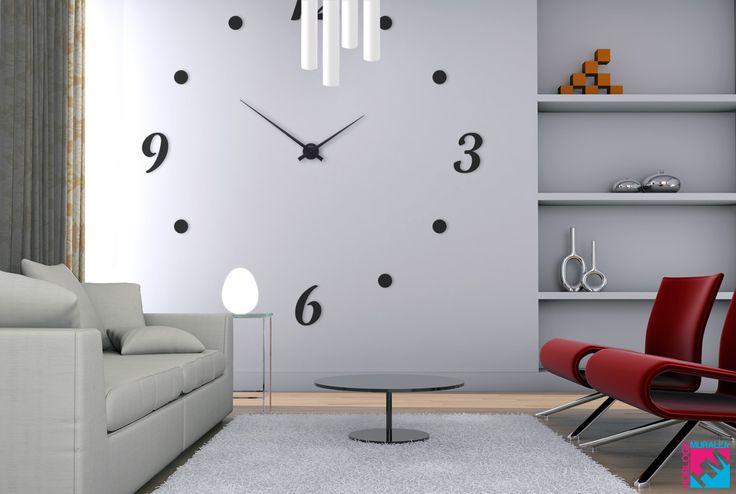 horloge murale g ante salon diy pinterest produits et technologie et salons. Black Bedroom Furniture Sets. Home Design Ideas