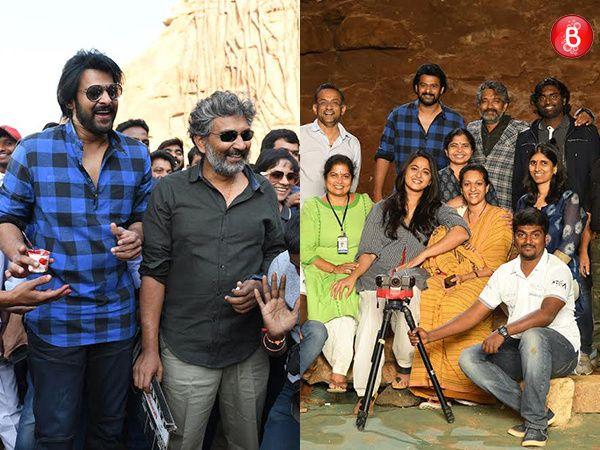 PICS: It's a wrap for Prabhas, Anushka Shetty, SS Rajamouli and team of 'Baahubali 2'