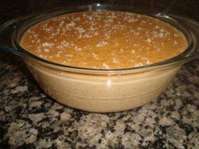 Receita Arroz doce com açúcar queimado