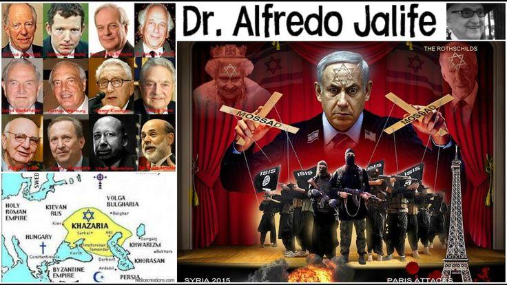 El Verdadero Origen del Judaísmo No es Semita Alfredo Jalife-Rahme - YouTube