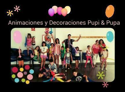 Animaciones y decoraciones pupi& pupa