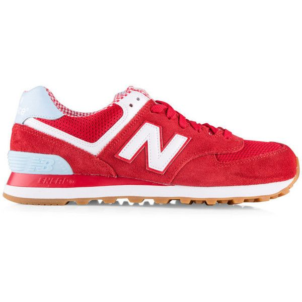 new balance red womens shoes