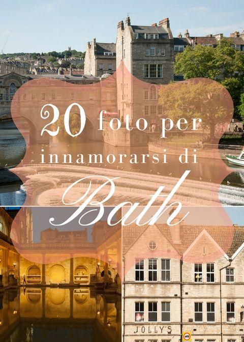 Bath, la bellissima cittadina del Sommerset è una scoperta continua. Non solo le Roman Baths, ma anche il Circle, il Royal Crescent, il Royal Victoria Park e il Museo di Jane Austen. Una meraviglia dietro l'altra.
