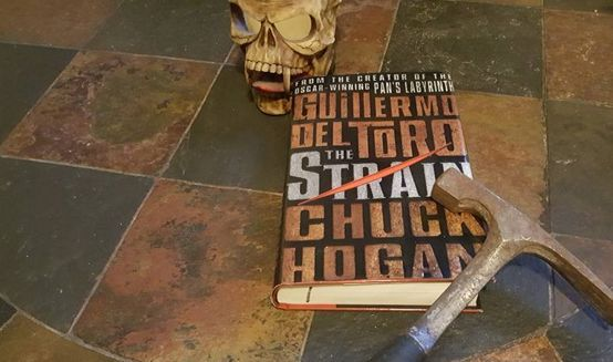 The Book Hole Reviews. The Strain - Guillermo Del Toro and Chuck Hogan