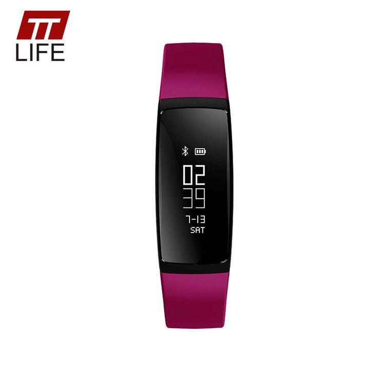 TTLIFE Smart Sports Watch GPS Heart Rate Monitor IP67 Waterproof Watch Fitness Blood Pressure Tracker Bluetooth 4.0 Smart Watch