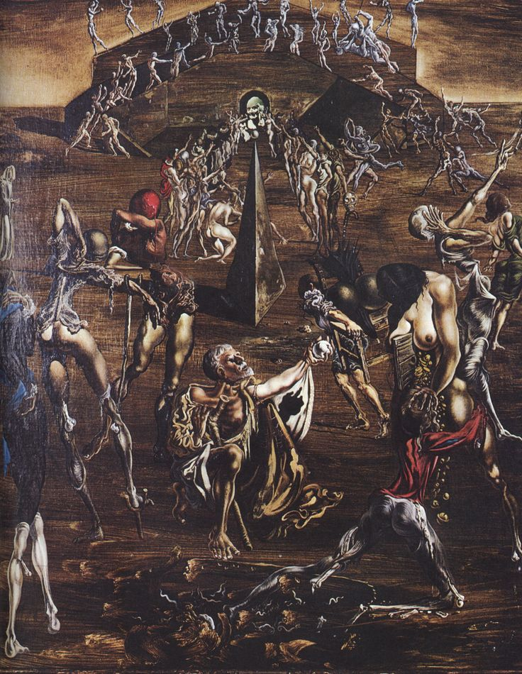 Resurrection of the Flesh - Salvador Dali  #dali #paintings #art
