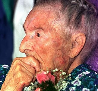 Marie-Louise Meilleur (August 29, 1880 - April 16, 1998) was 117 years, 230 days at the time of her death. She is the 4th verified longest lived person in history.