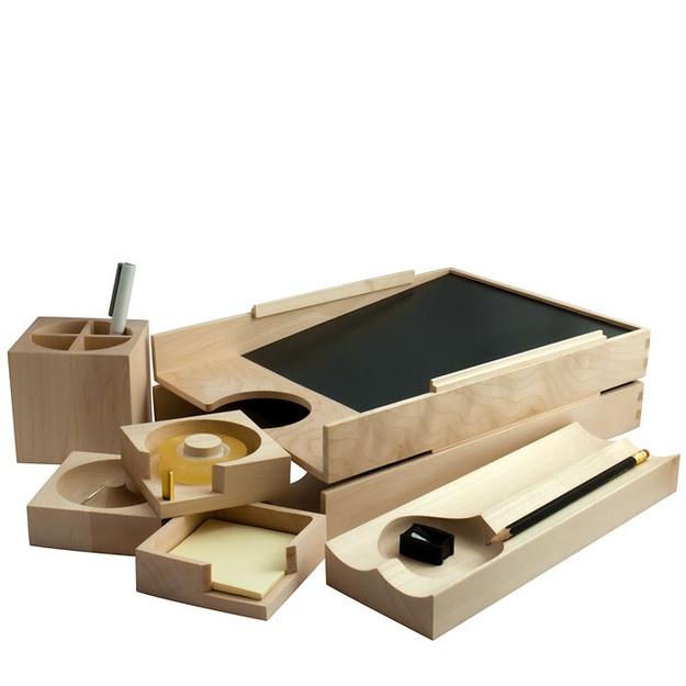 Maple Wood Desk Accessories - ($1-20) - Svpply