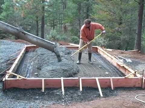 Best 25 concrete slab foundation ideas on pinterest for Slab on grade foundation cost