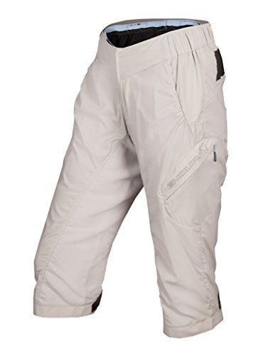 Endura Hummvee Baggy Lite Womens 3/4 Shorts with Padded Liner