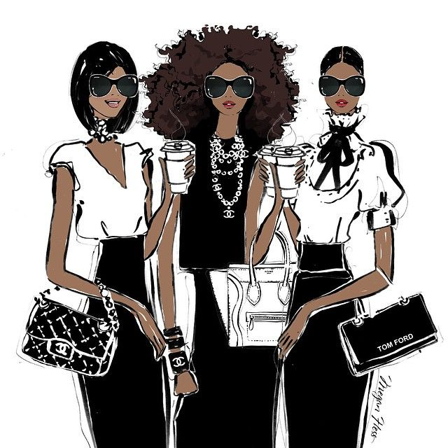 They're tough like diamonds and soft like pearls, they're my Monday Coffee Girls! -- Megan Hess