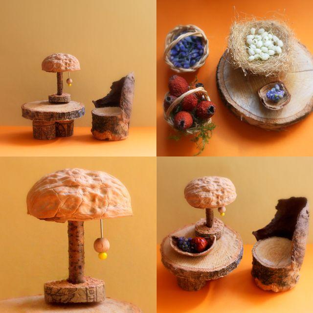 Salt Lamps Cork : 1000+ ideas about Fairy Homes on Pinterest Fairies garden, Gnome home and Diy fairy house