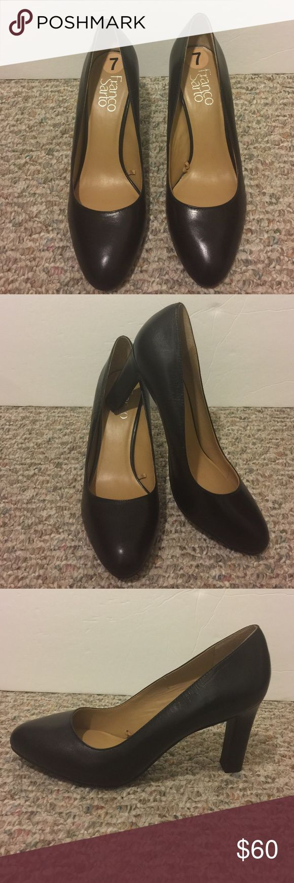 "NWOT Franco Sarto Black Pumps Sz 7 NEW Franco Sarto Black Pumps Heels  Sz 7❣️ New without box❣️Heels 3.5"" Franco Sarto Shoes Heels"