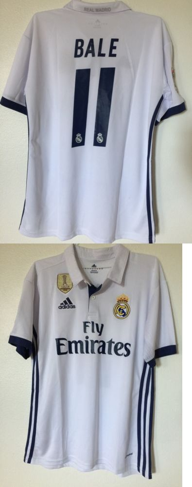 Men 123490: Real Madrid 2016 2017 Home Jersey Gareth Bale #11 Mens Medium -> BUY IT NOW ONLY: $34.99 on eBay!
