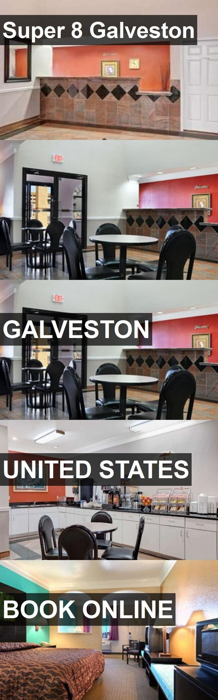 Hotel Super 8 Galveston in Galveston, United States. For more information, photos, reviews and best prices please follow the link. #UnitedStates #Galveston #travel #vacation #hotel