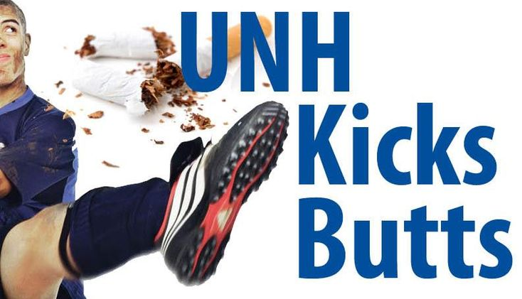 UNH Kicks Butts 2015 -  Tobacco Cessation at University of New Hampshire
