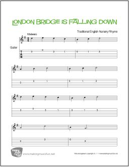 Best Guitar Sheet Music Images On   Free Printable