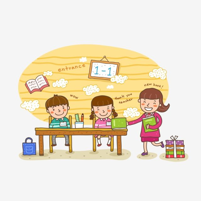 لون دافئ يوم المعلم المعلم والطالب كرتون طالب الصف Student Cartoon World Peace Day Happy Teachers Day