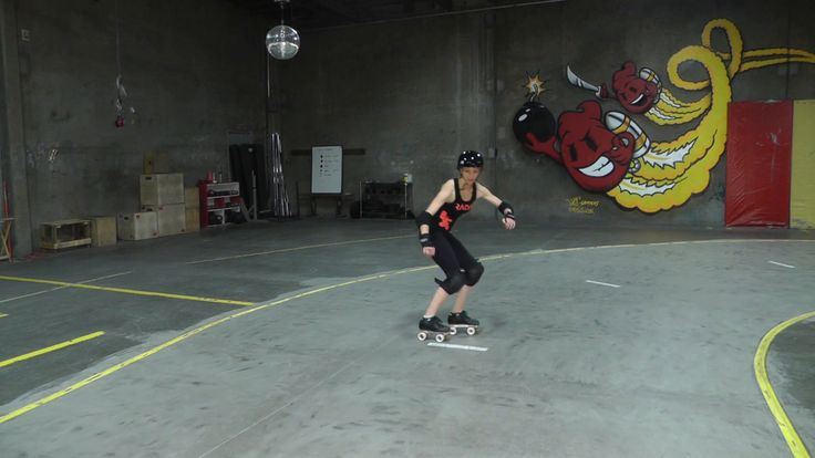 Radar Labs Hockey Stops with Ghetto Fabulez | Roller Derby ...